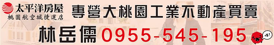 林岳儒-大桃園工業地廠房租售
